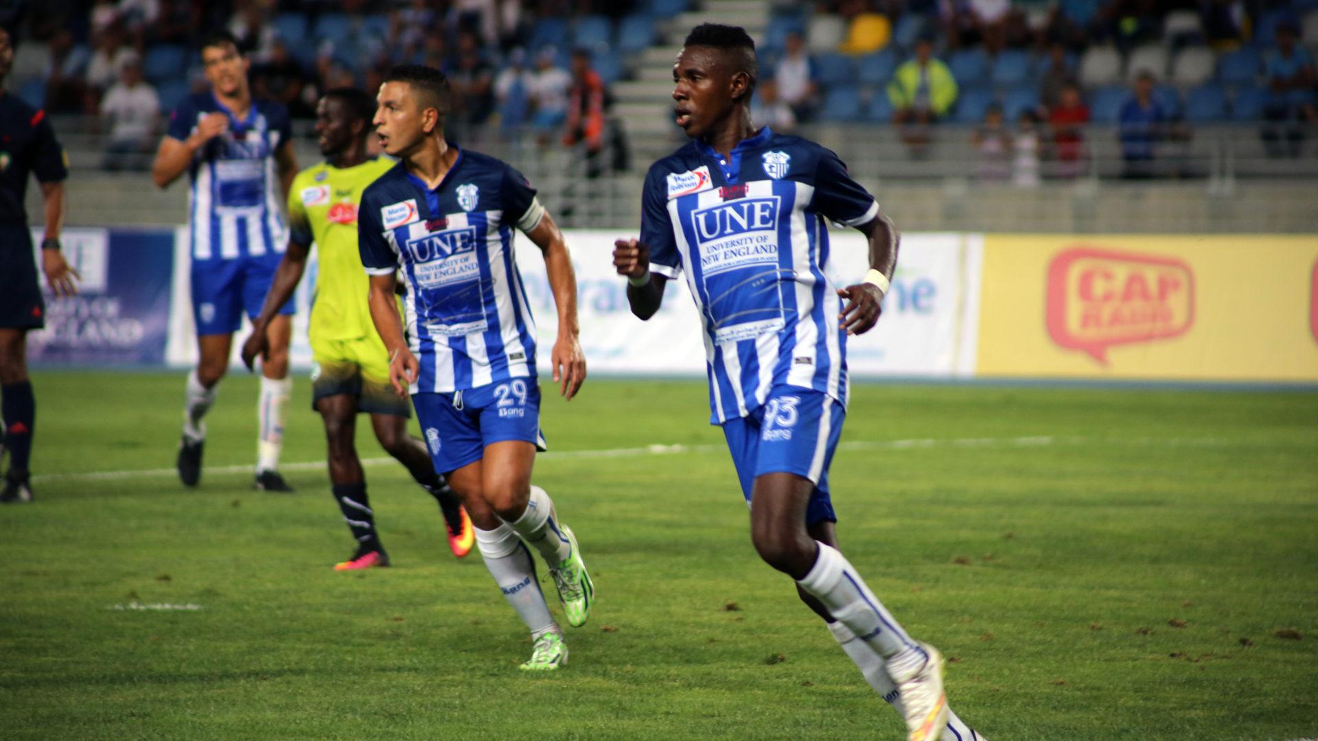 Ittihad Riadi Tanger Soccer Game