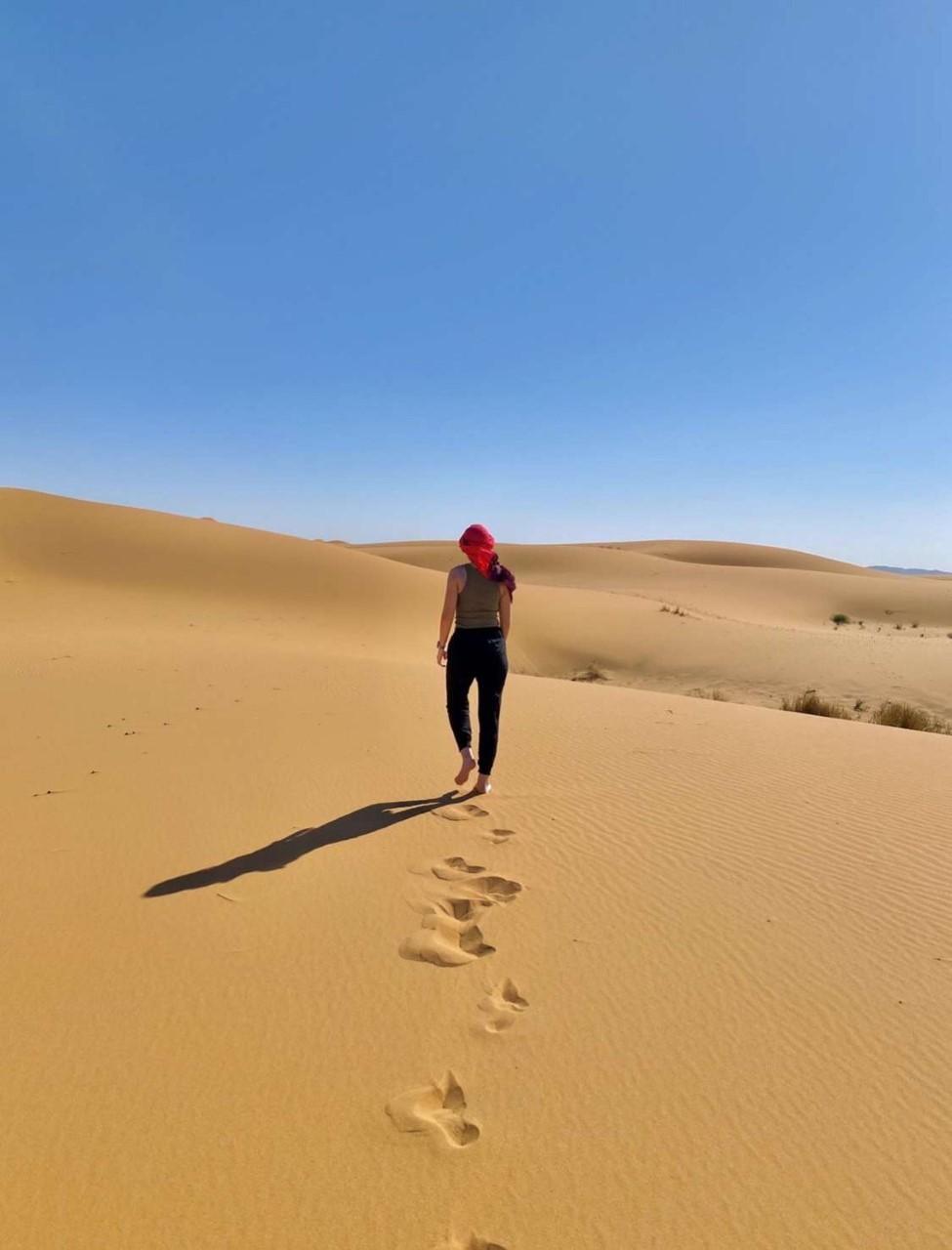 Mackenzie Mahoney in the desert