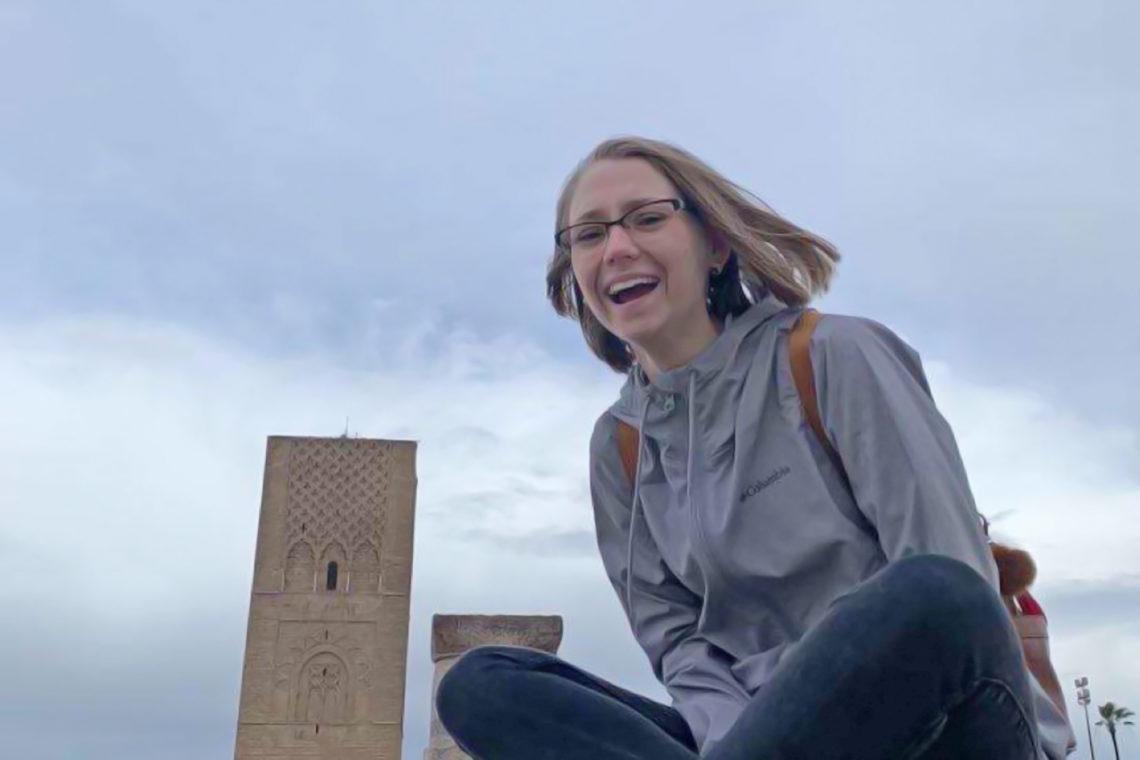 Mackenzie Mahoney in Rabat